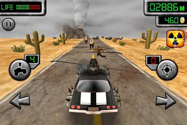 Зомбо-гонки для iPod touch