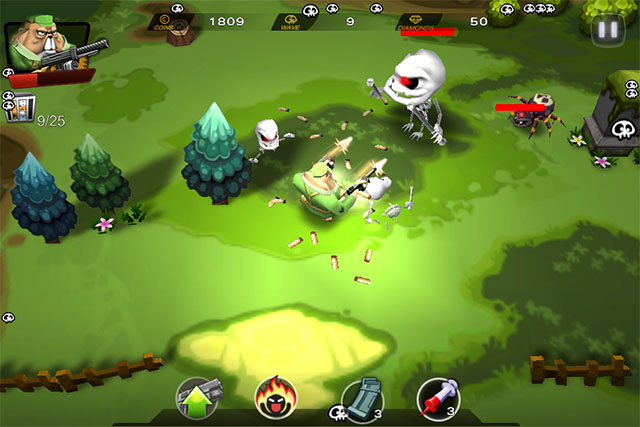 Dual-Stick Shooter для iPod touch