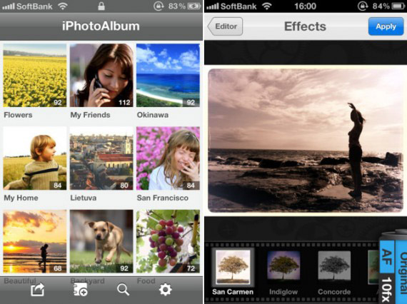 iPhoto в iOS 7