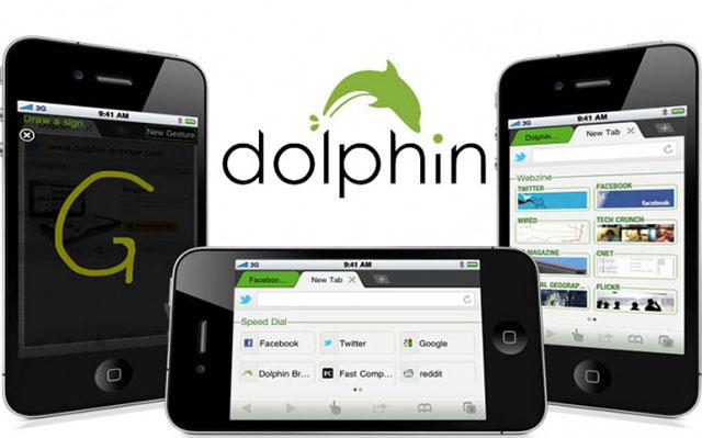 Dolphin Browser в iOS 7