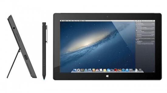 На Microsoft Surface Pro поставили Mac OS X