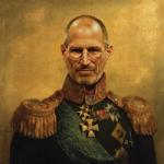 Стив Джобс стал генералом русской армии
