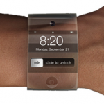 Apple работает над часами из гнутого стекла