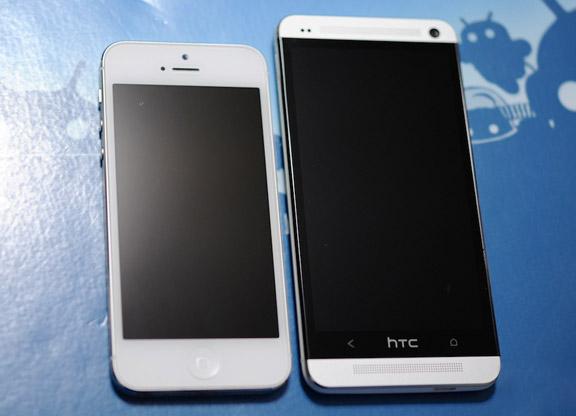 Сравнение iPhone 5 и HTC One