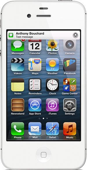 Задержка баннеров на экране iPhone