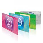 40 карт itunes в подарок к празднику