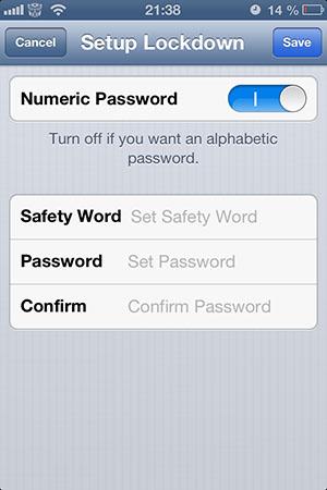Защита папок паролем на iPhone