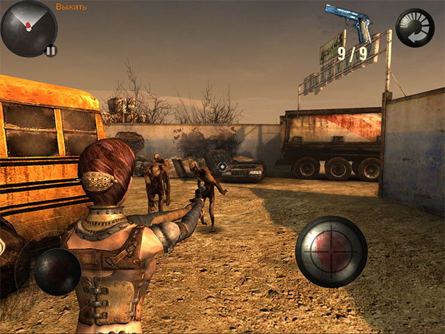 3rd Person Shooter для iPhone