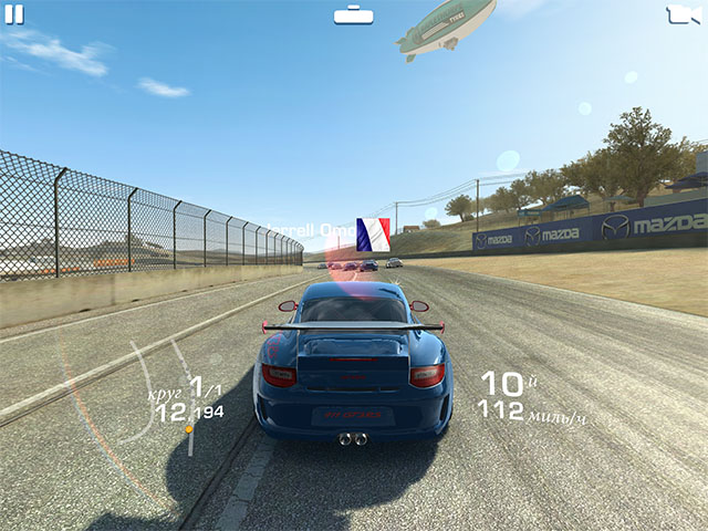 Лучшие гонки для iOS
