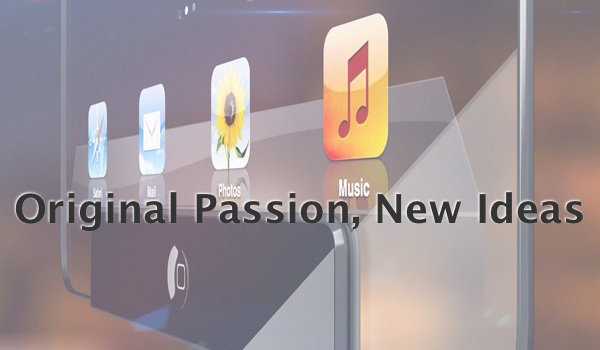 Original Passion, New Ideas