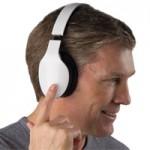 Finger Swipe Headphones — беспроводные наушники с сенсорным управлением