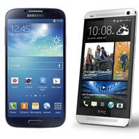 HTC One Samsung Galaxy S IV