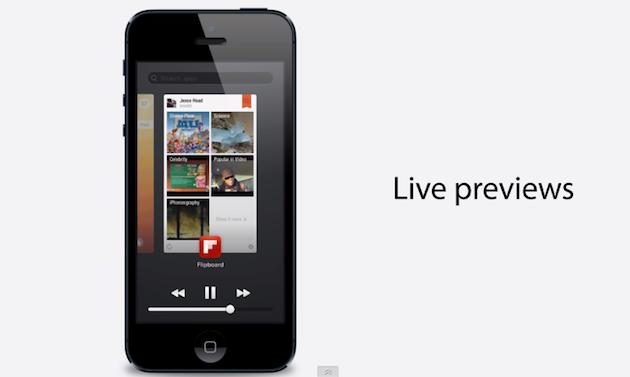 концепт многозадачности в iOS 7