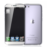 Концепт iPhone с трекпадом вместо кнопки Home
