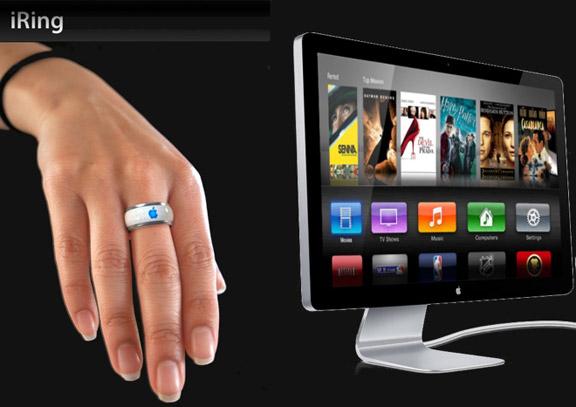 Кольцо iRing для управления iTV