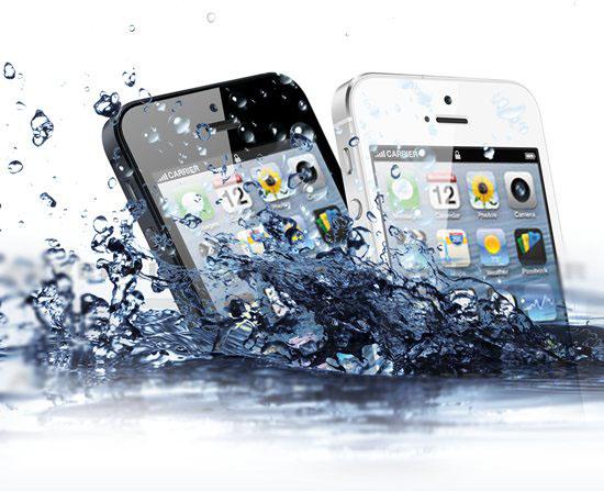 если вы уронили свой iPhone в воду