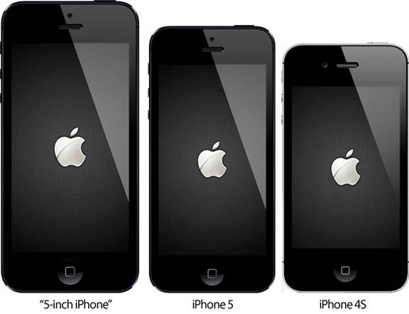 iPhone с 5-дюймовым экраном