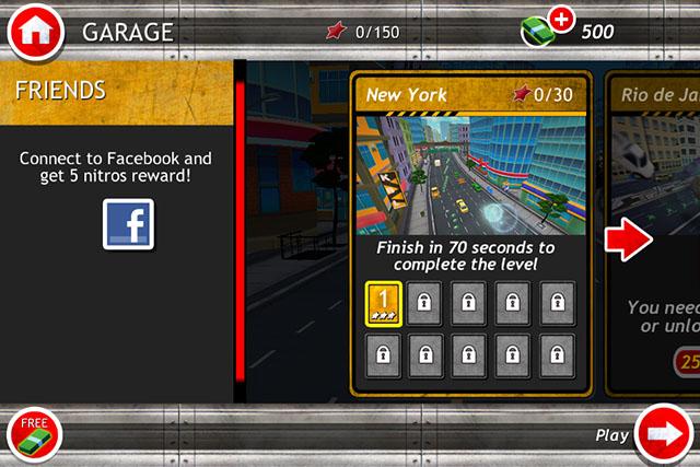 Аркадные гонки на iPad