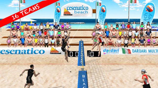 Пляжный волейбол для iOS
