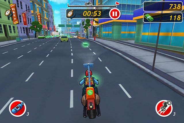 Racing с элементами Runner для iPod touch