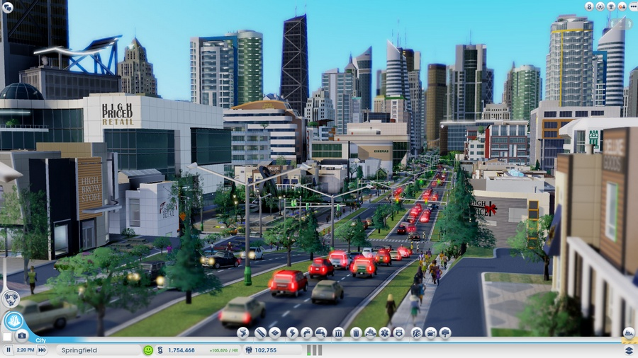 SimCity на Mac