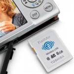Беспроводная карта памяти Toshiba FlashAir теперь совместима с iOS устройствами