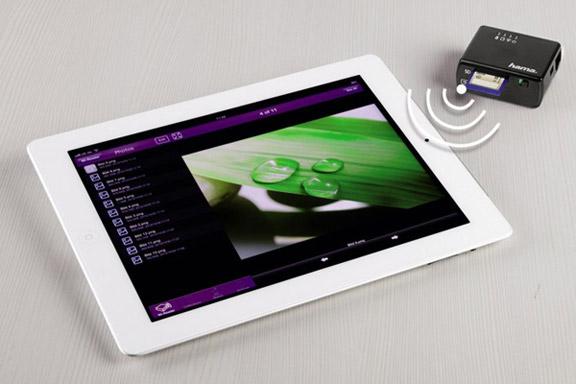Hama Wi-Fi Data Reader — беспроводной картридер для iOS-устройств | ПростоMAC