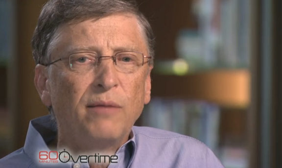 CBS interview with Bill Gates about Steve Jobs
