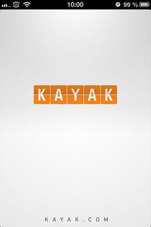 Kayak for iPhone