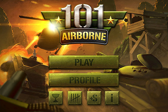 Helicopter Shooter for iPhone