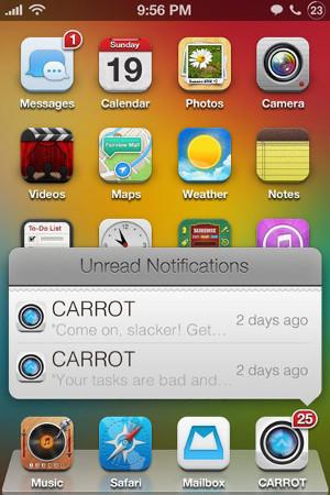 Vsplyvajyushchie uvedomlenijya na iPhone