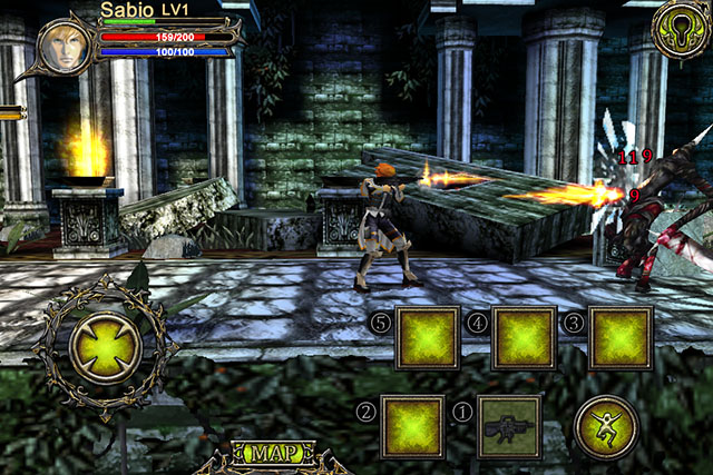 Action-RPG for iPad