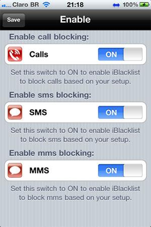 Blokirovka zvonkov i soobshenij na iPhone