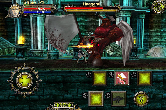 Action-RPG for iPod touch