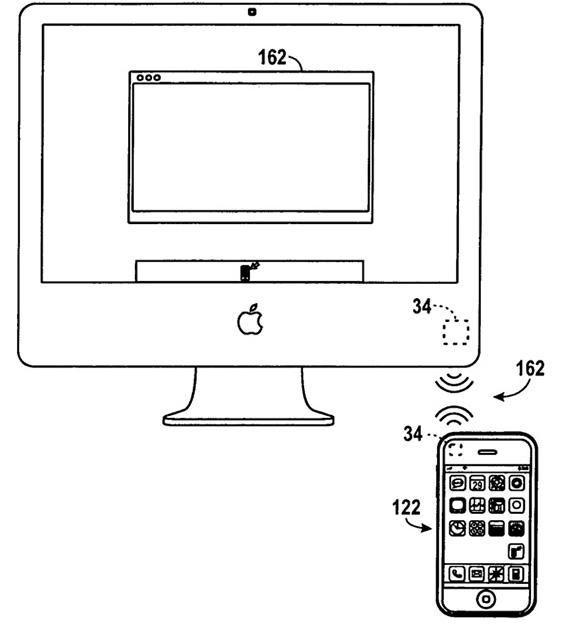 Apple запатентовала передачу данных по NFC