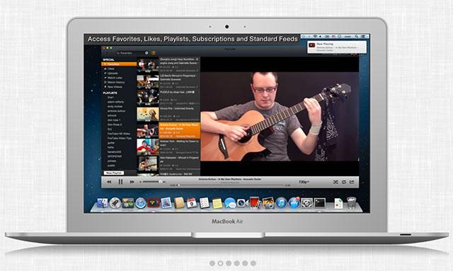 YouTube-клиент для Mac