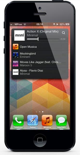 Мини-плеер для iPhone и iPod touch