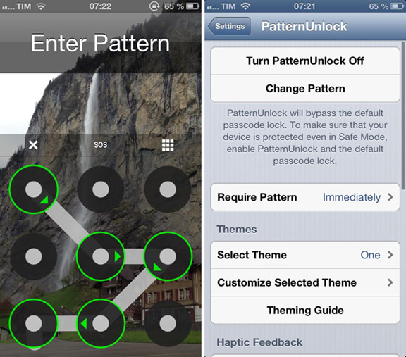 Разблокировка iPhone в стиле Android