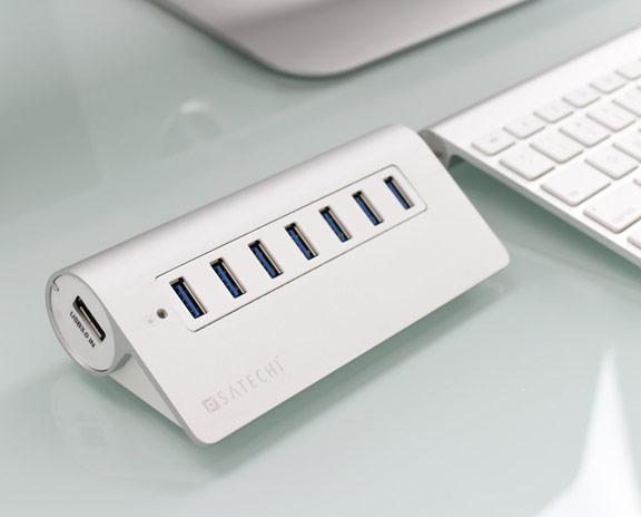 USB hub na 7 portov