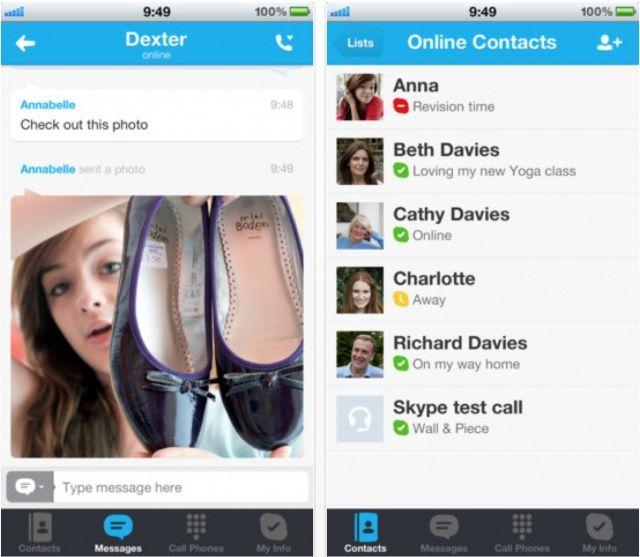 Skype Для Iphone 5 - фото 11