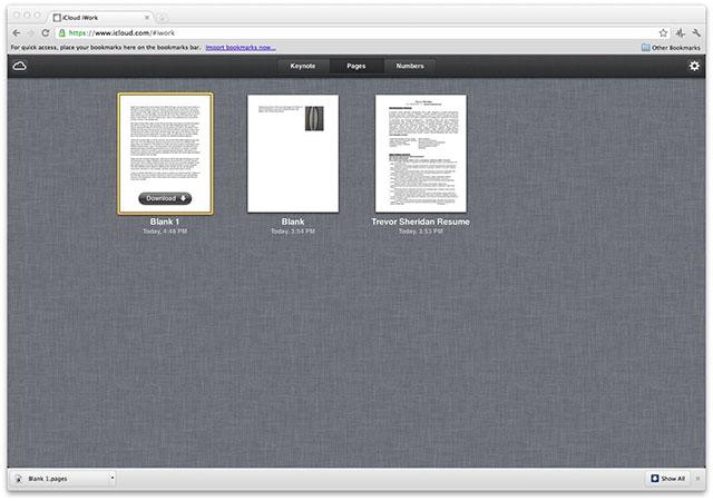 Облачный офис для iCloud