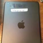 В сети появились снимки прототипа iPad mini 2