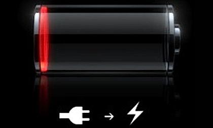 Зарядите аккумулятор iPhone