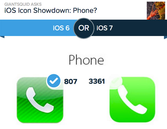 иконки в iOS 7