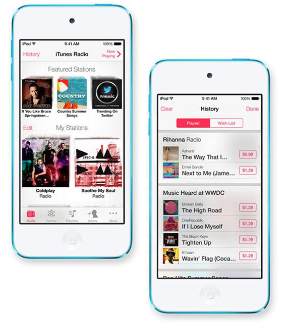 Радио-сервис в iTunes