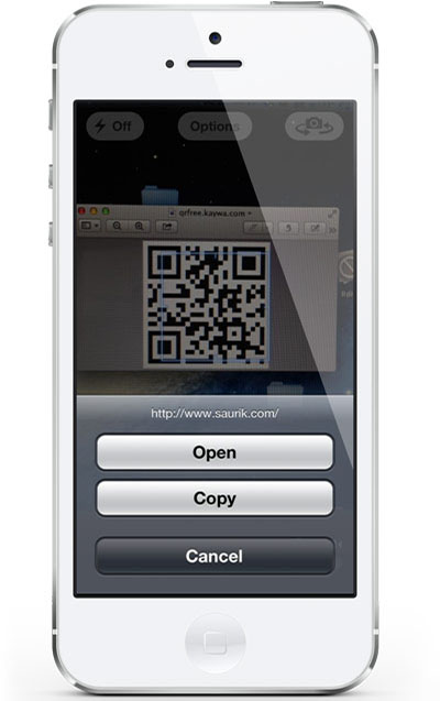 Сканируем QR-коды с помощью камеры iPhone