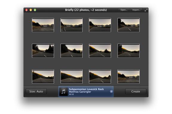 Как создать видео из фото на Mac