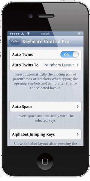 Прокачка клавиатуры iOS