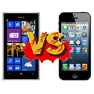 Lumia 925 vs. iPhone 5