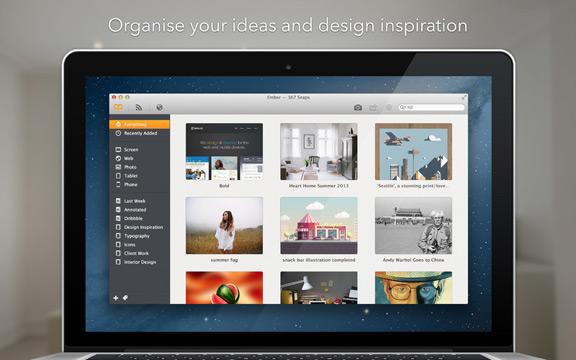 Организация изображений на Mac